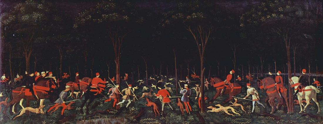 """The Hunt in the Forest."" ca. 1470."