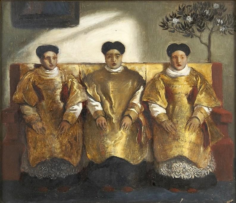 """Three priests."" 1865."