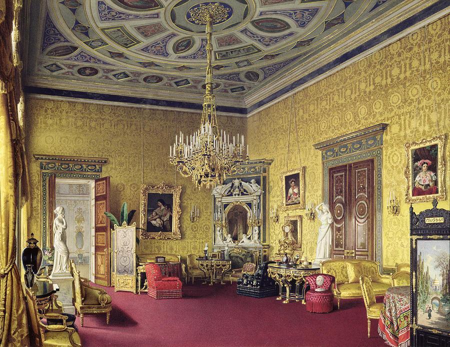 Lyons Hall, Catherine Palace, Tsarkoe Selo. 1859.