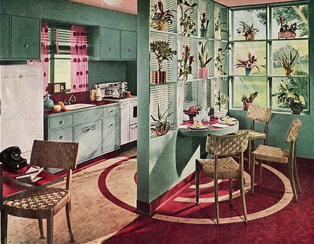 Kitchen. 1936.