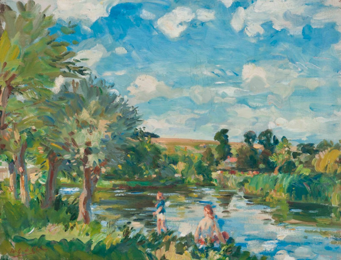 """Summer on the Avon."" Undated."