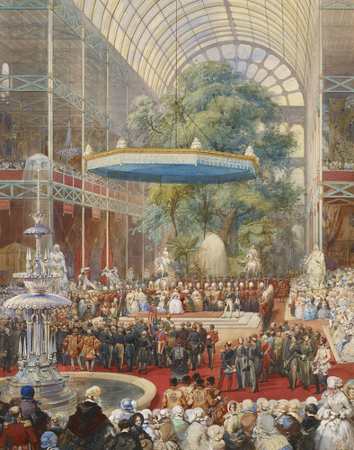 """The opening of the Great Exhibition."" 1851."