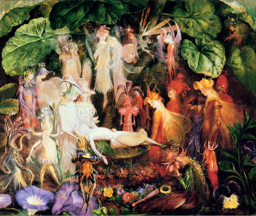 """The Fairy's Funeral."" Late 19th-early 20th c."