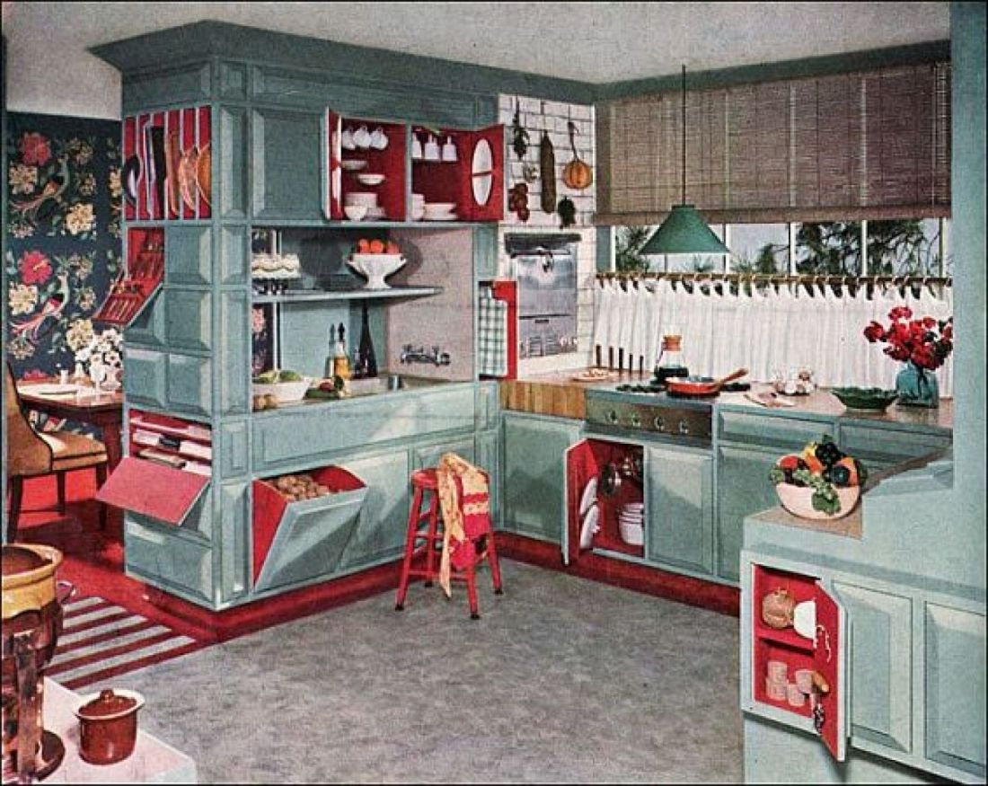 Kitchen. 1953.