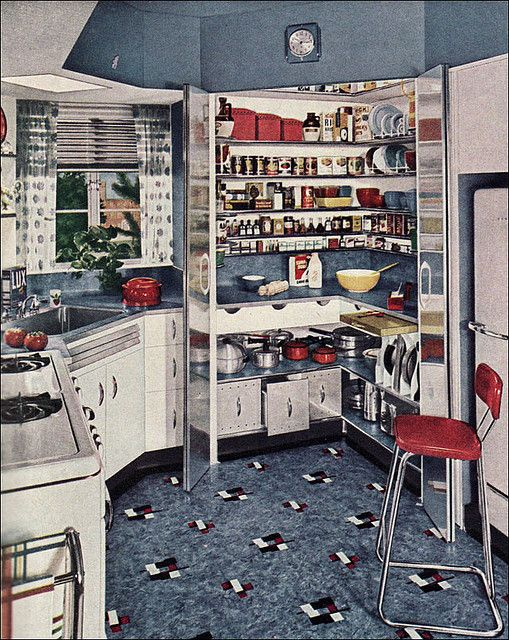 Kitchen. 1948.