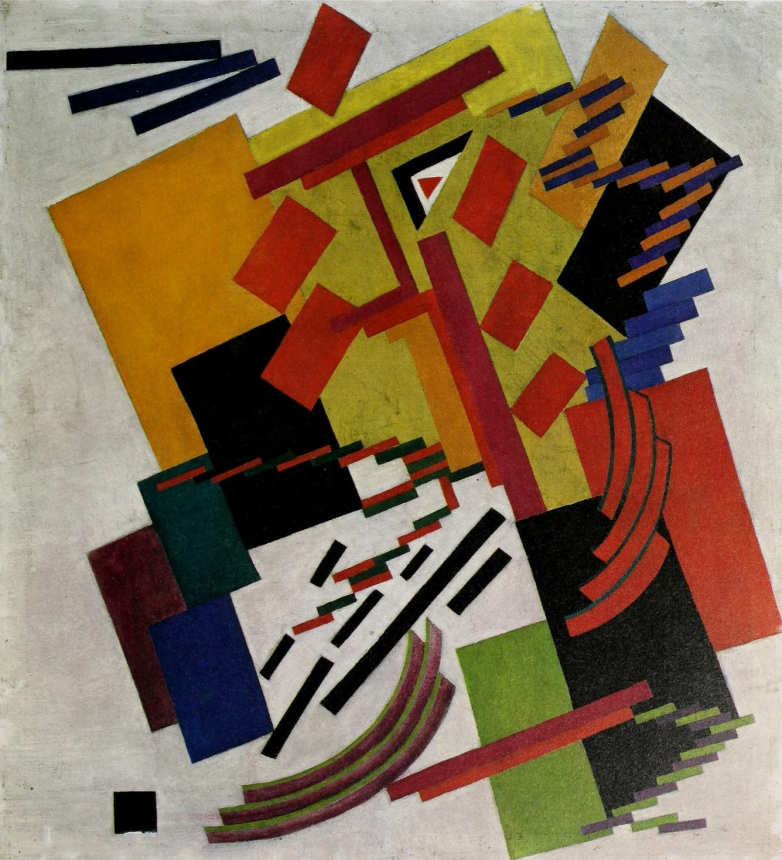 """Non-Objective Composition."" 1916."