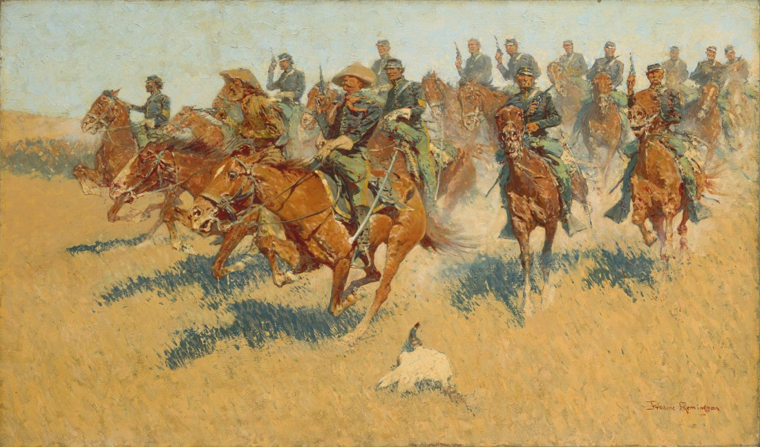 """On the Southern Plains."" 1907."