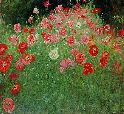 """Papaver-bed."" Undated."