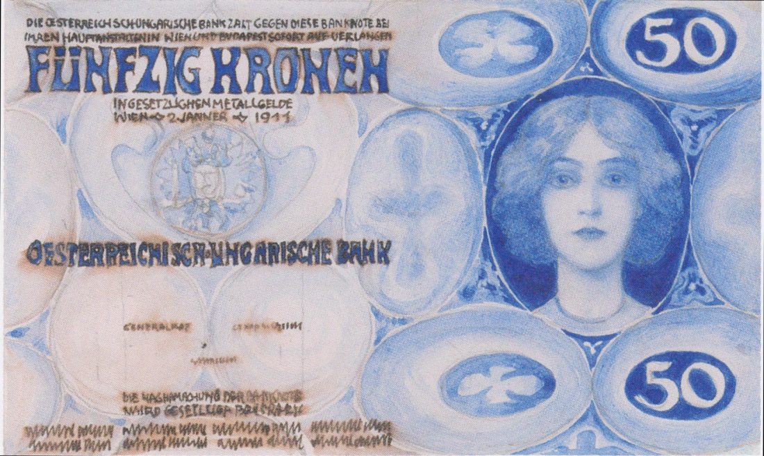 50 kronen banknote. 1911.