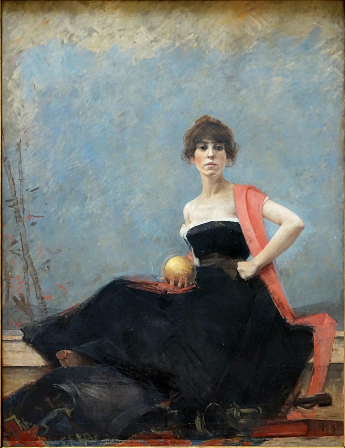 """Vanite."" 1885."