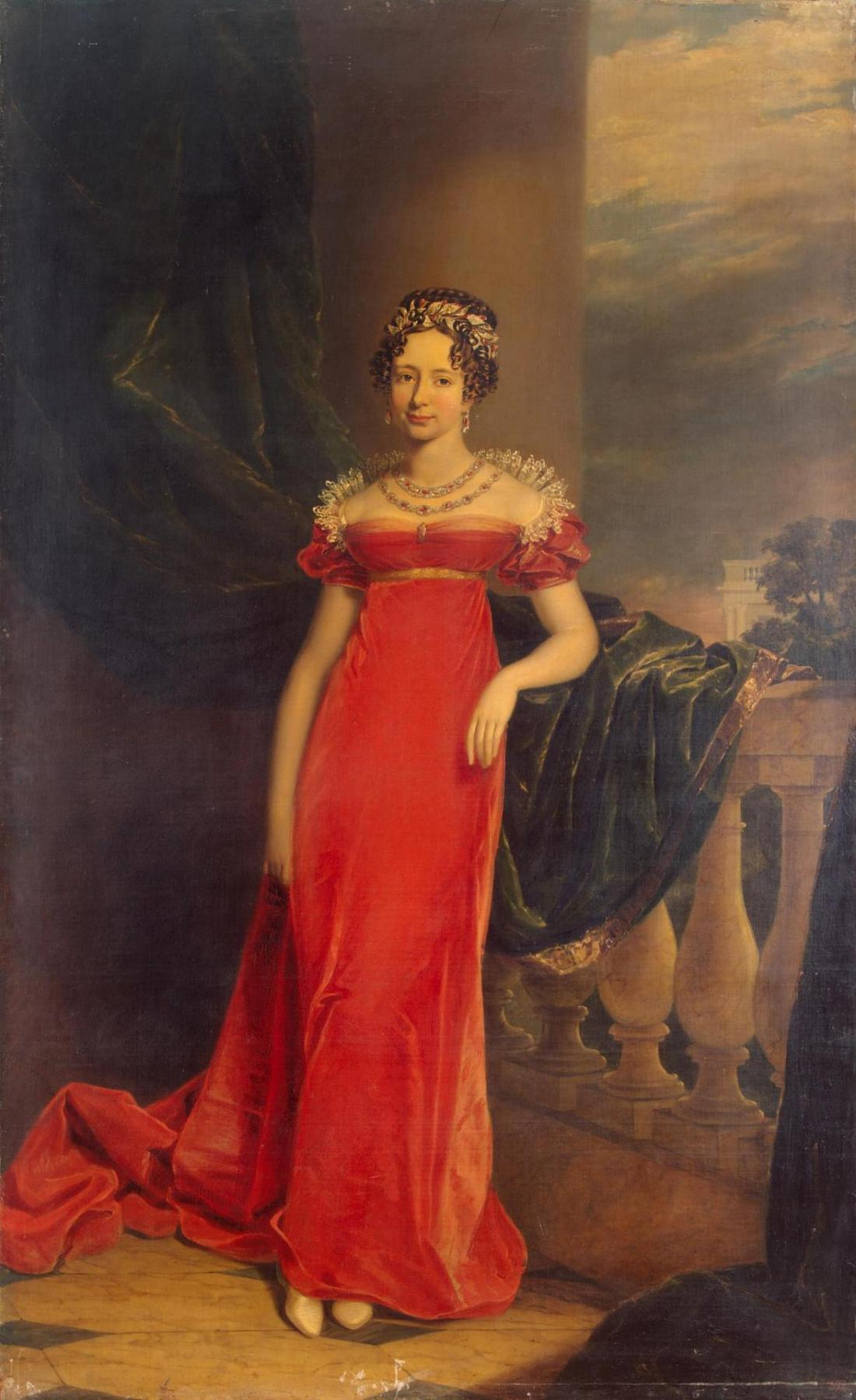 Grand Duchess Maria Pavlovna of Russia. 1822.