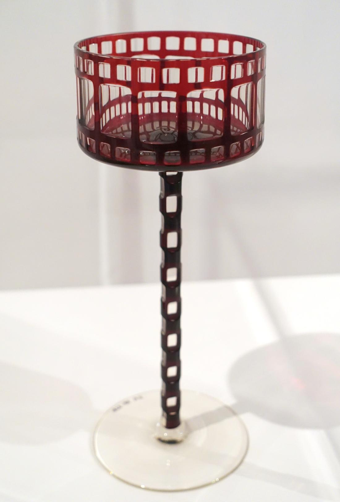Wine goblet. 1909.