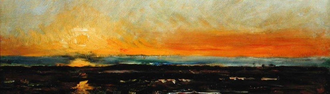 """""""Sunset on the Sea Coast."""" Undated."""
