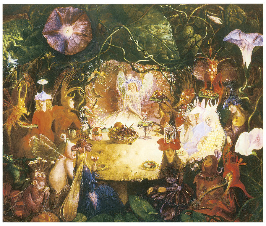"""The Fairies Banquet."" 1859."