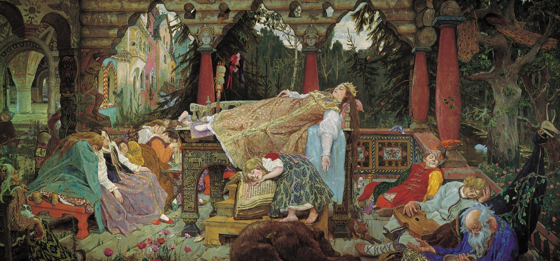 """The Sleeping Princess."" 1900-1926."