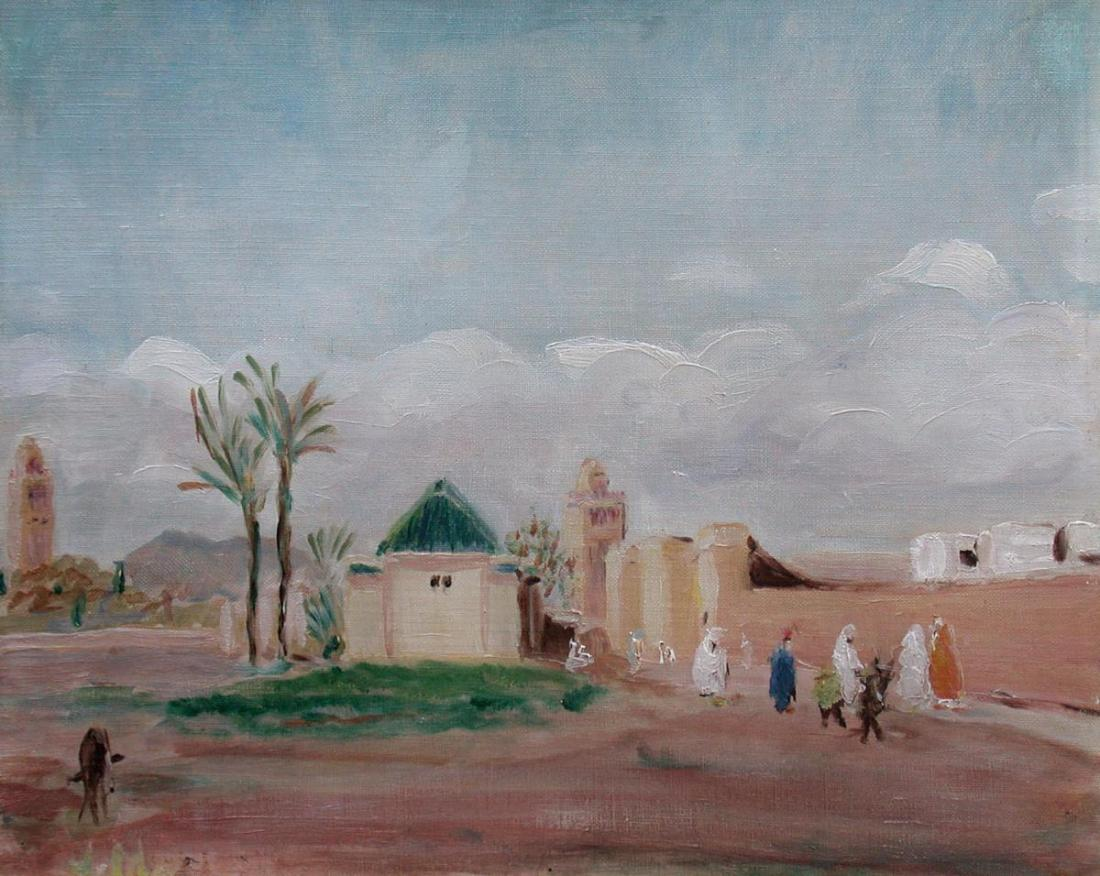 """Marrakech."" 20th c."