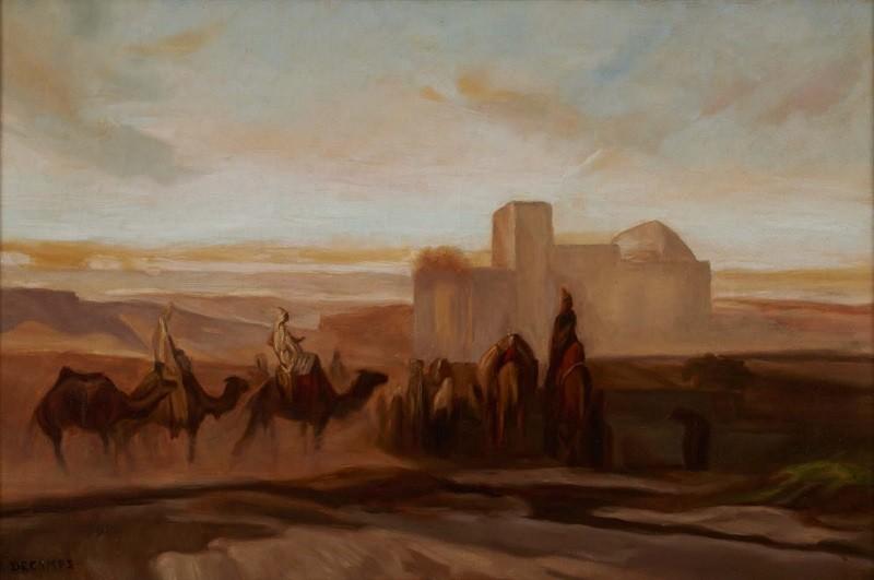"""""""La caravane du désert."""" 20th c."""