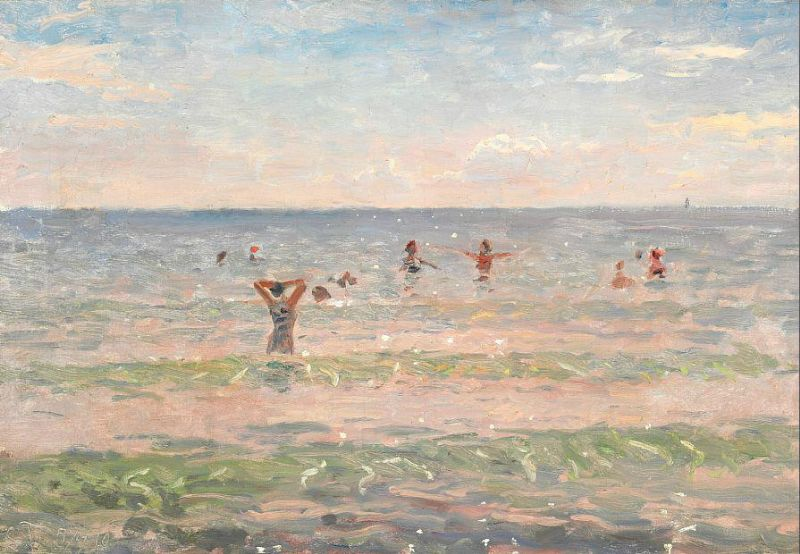 Laurits Tuxen – Toes in a Very Different Sand