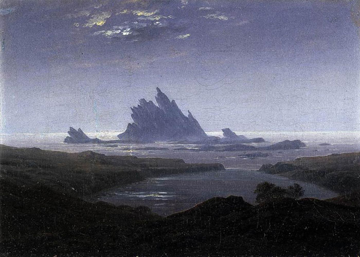 """Rocky Reef on the Sea Shore."" 1824."