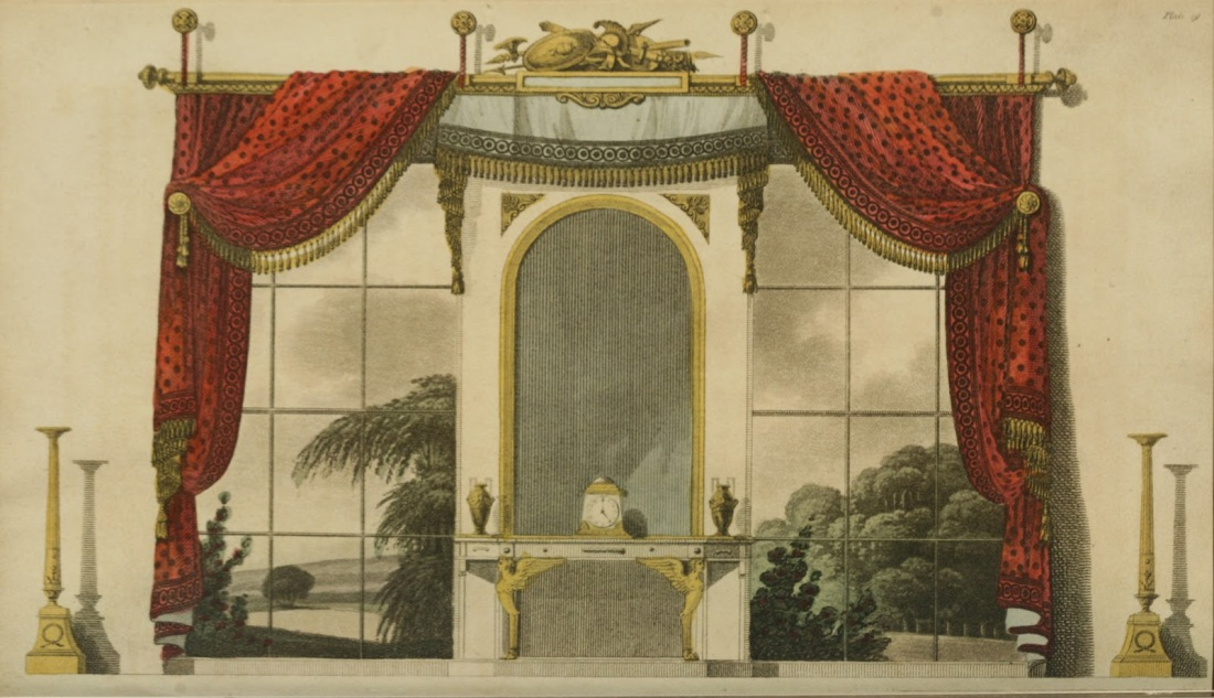 Curtains. 1809.