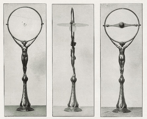 Electric lamp. ca. 1901.
