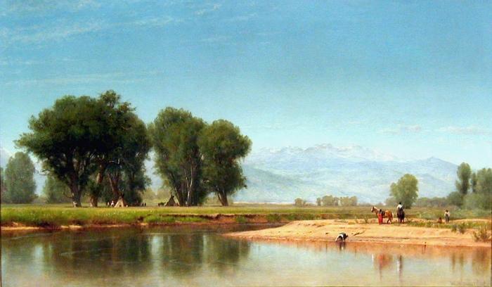 """On the Plains, Colorado."" 1872."