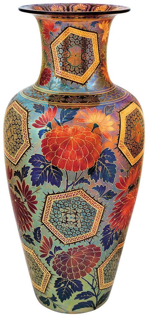 Vase with Japanese motifs. 1915.