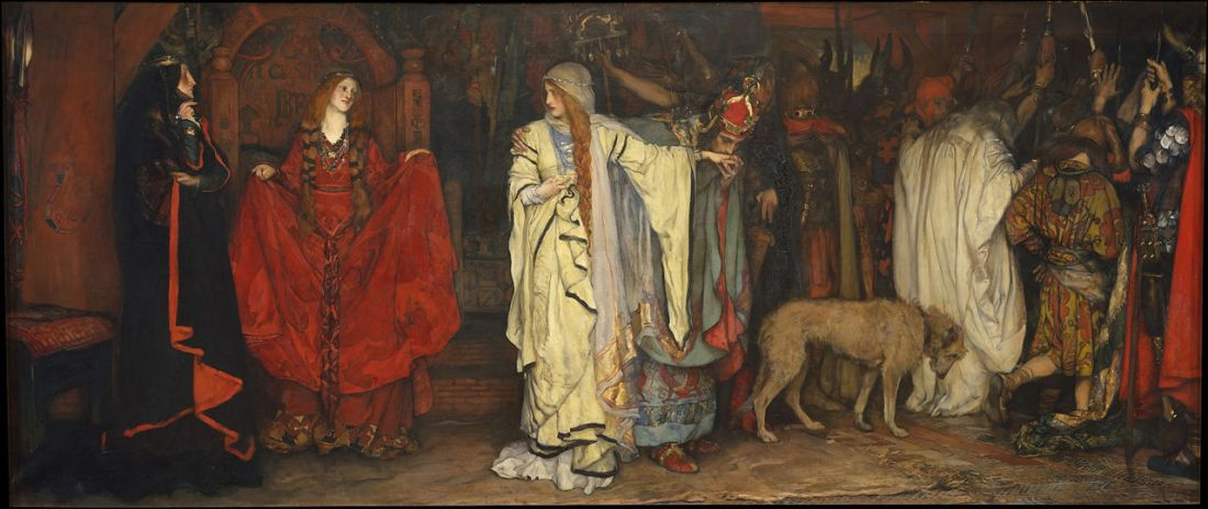 """King Lear, Act I, Scene I."" 1897-1898."