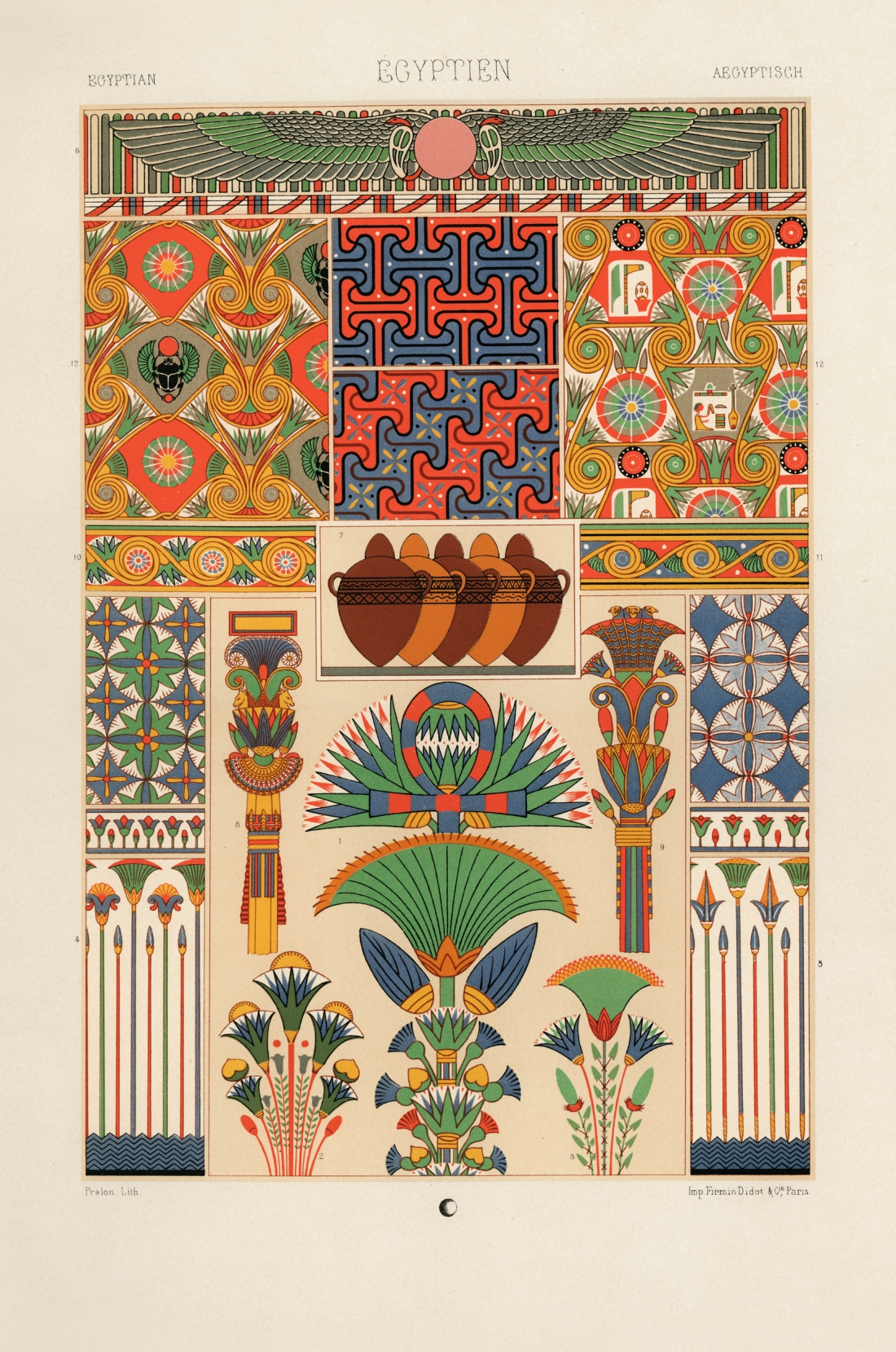 """""""Egyptien."""" Plate 88."""