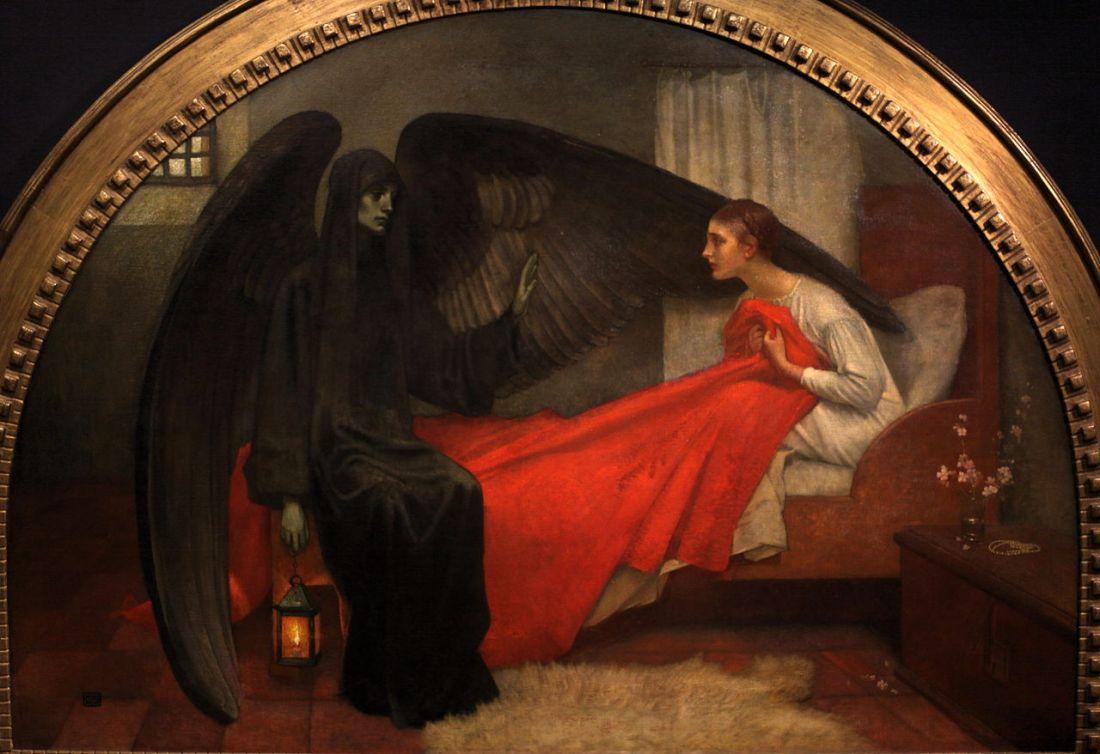 """""""La Jeune Fille et la Mort."""" 1908."""