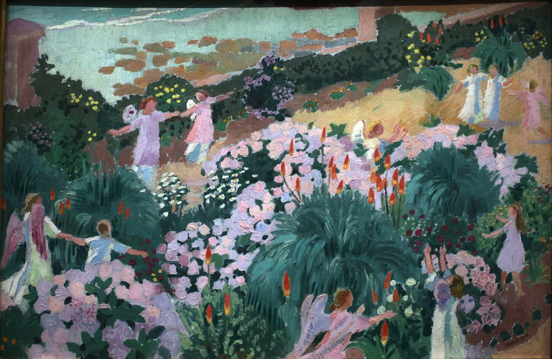 """""""Le Paradis."""" 1912."""