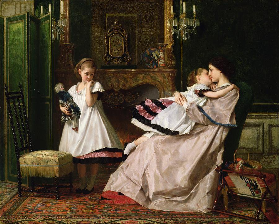 """Motherly Love."" ca. 1860."