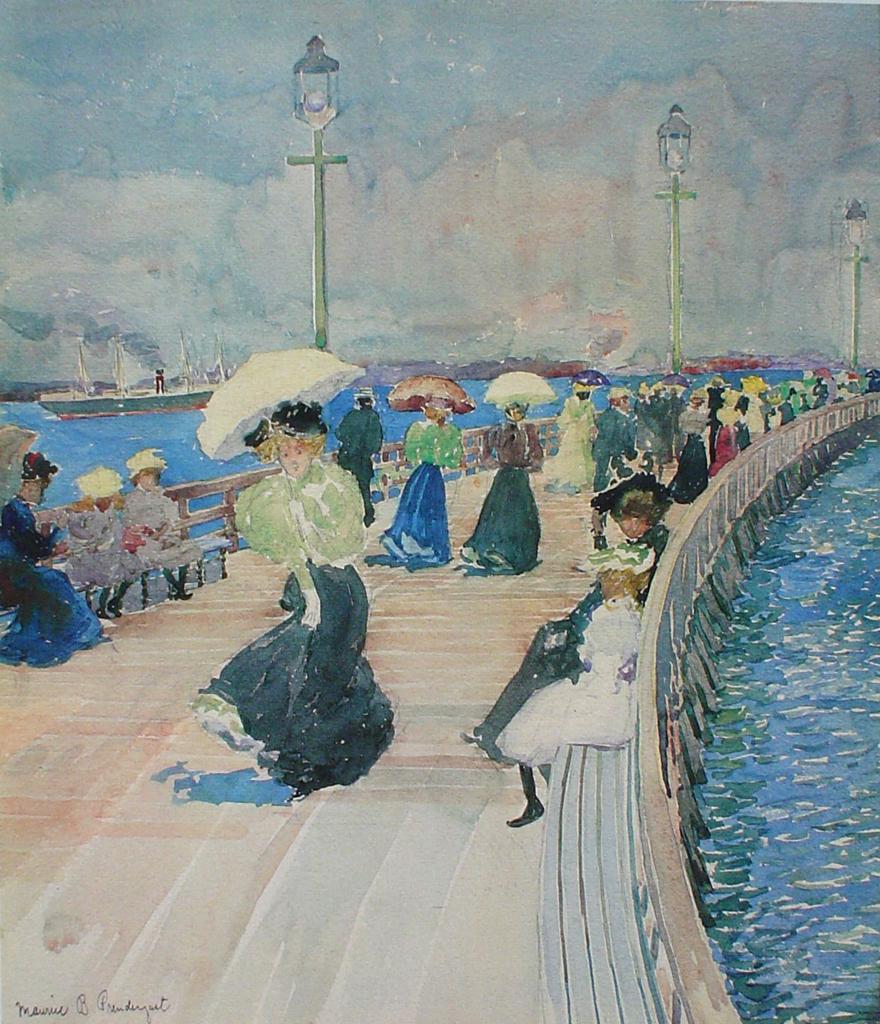 """South Boston Pier."" ca. 1896."