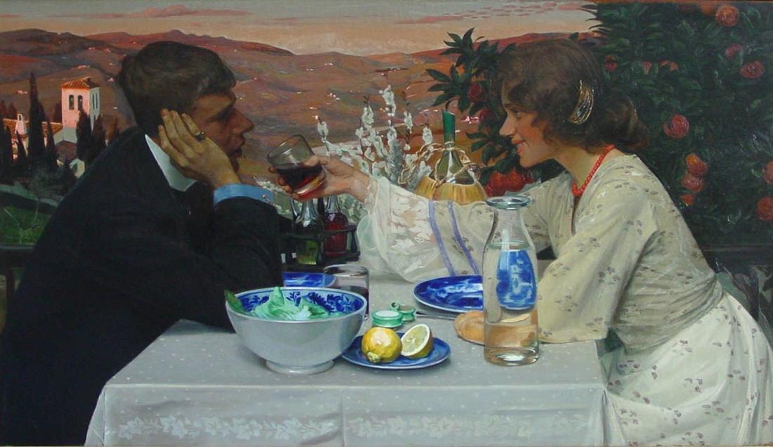"""""""Primavera."""" 1901."""