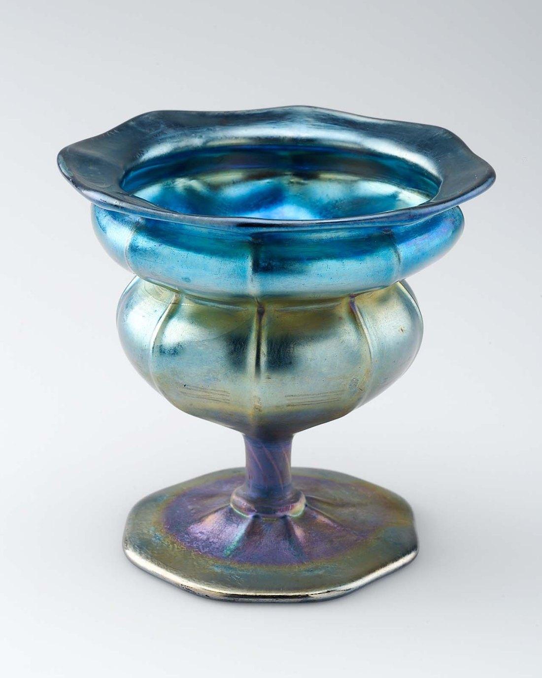 Stemmed bowl. ca. 1909.