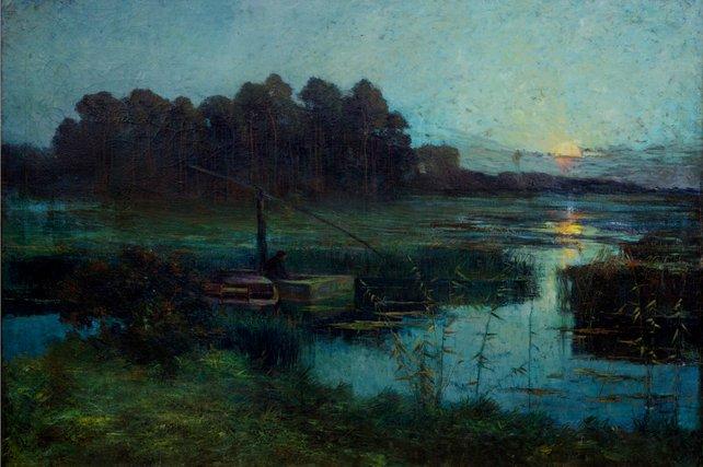 """""""De Palingvisser""""(The Eel Fisher). 1900"""