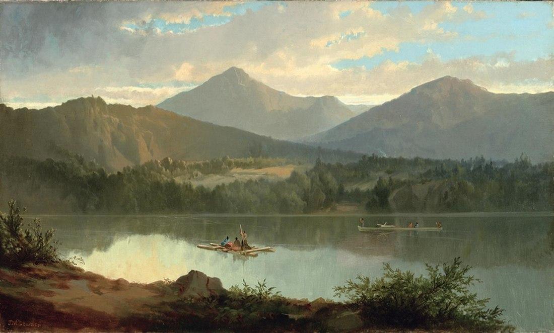 """Western Landscape."" ca. 1847-1849."