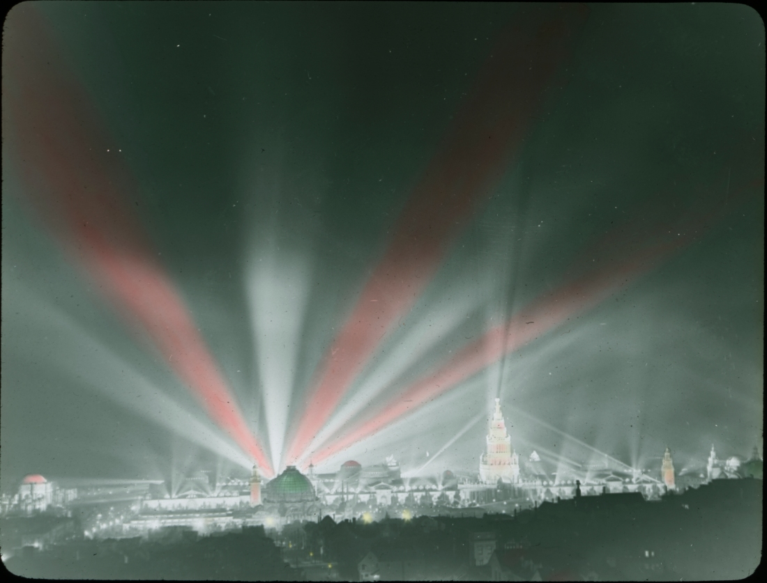 Illuminations, Panama-Pacific International Exposition.