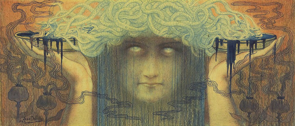 """""""La Méduse."""" 1893."""