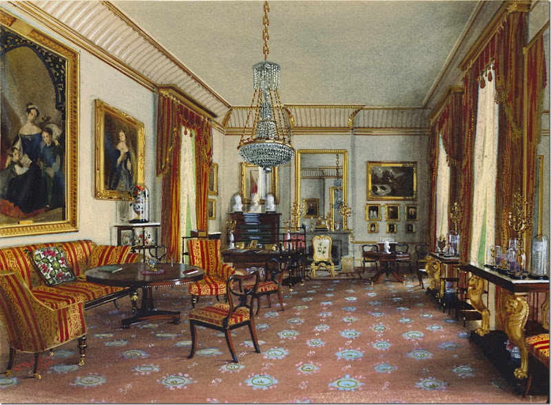 Duchess of Kent's sitting-room. 1861.