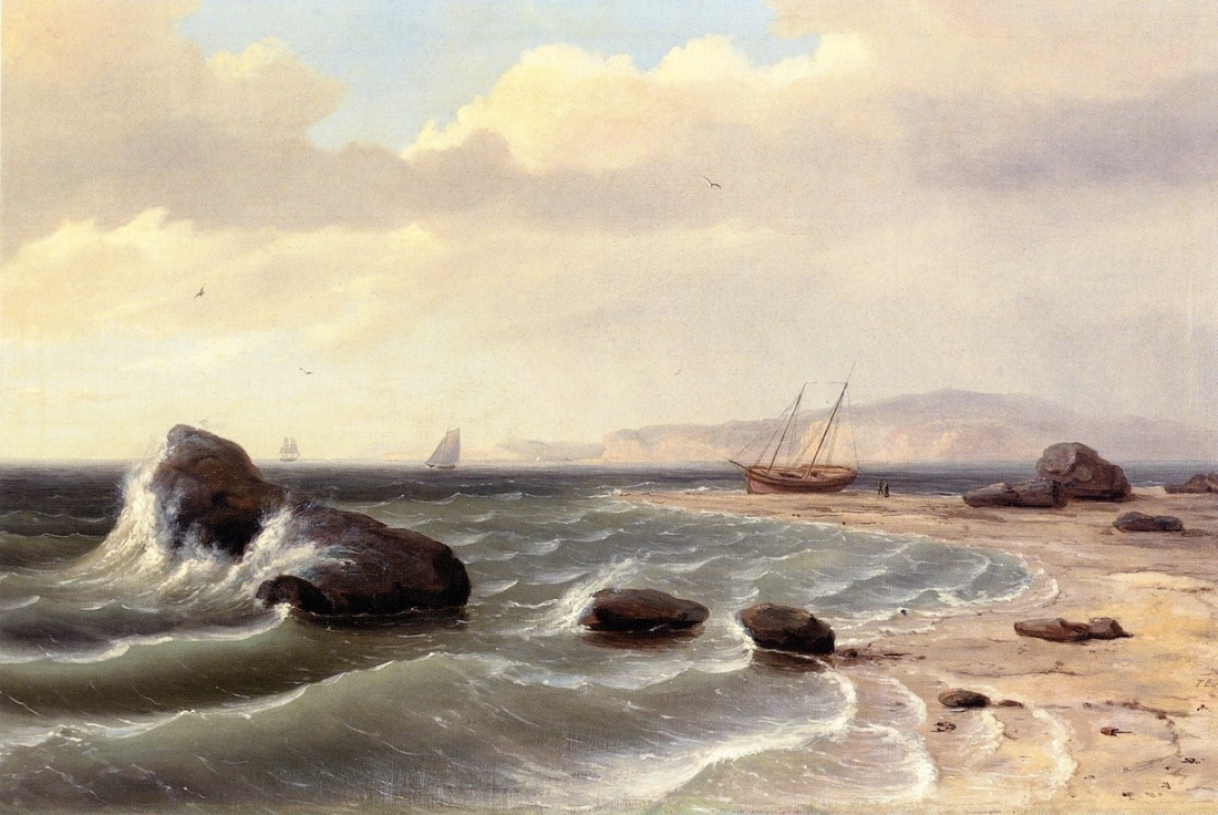 """An American Shore Scene."" 1827."