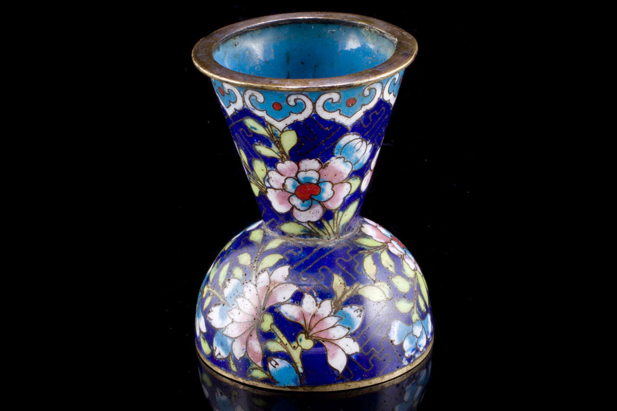 Opium drost container. 19th c.
