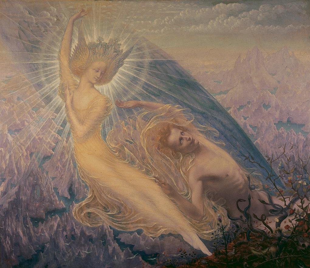 """""""The Angel of Splendor."""" 1894."""