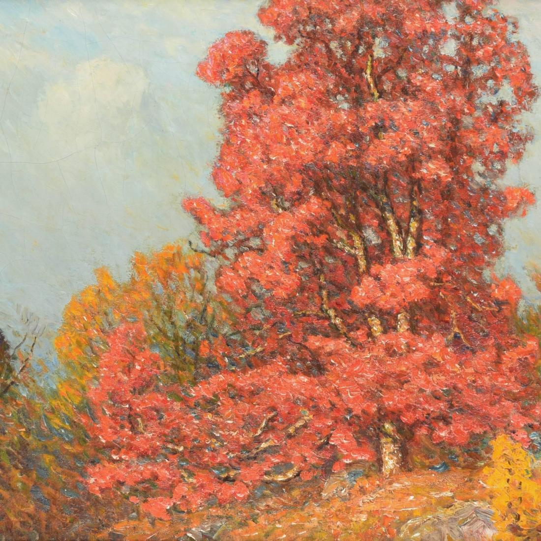 """Autumn Landscape."" No date."