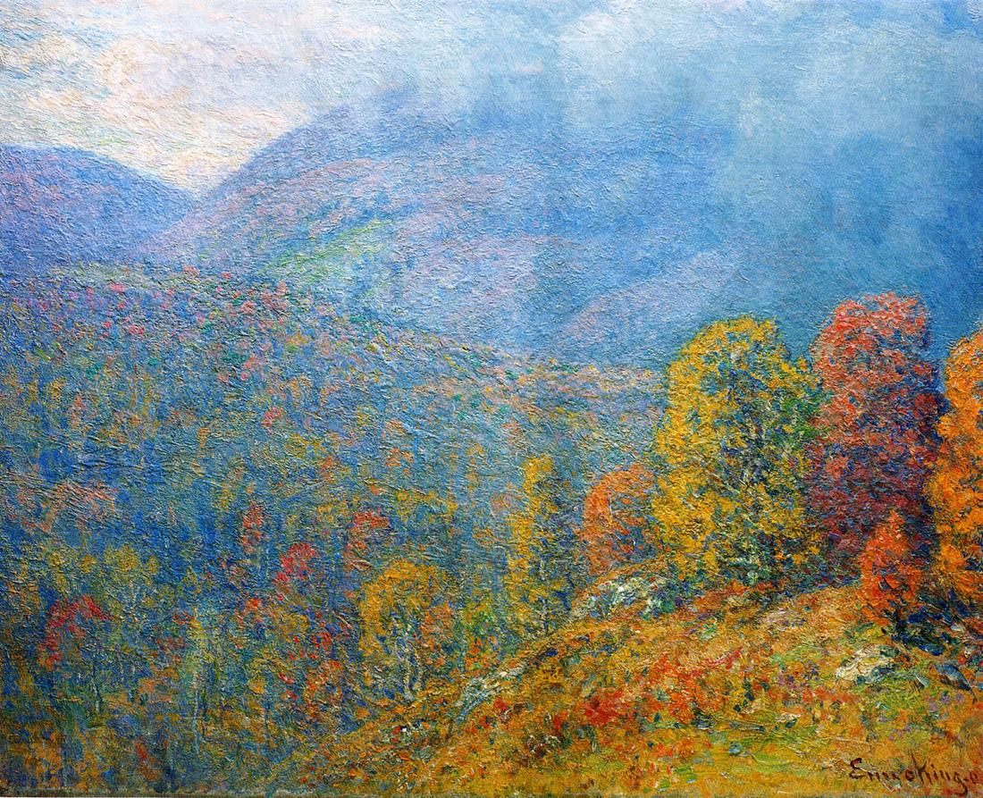 """Mountain Landscape."" 1902."
