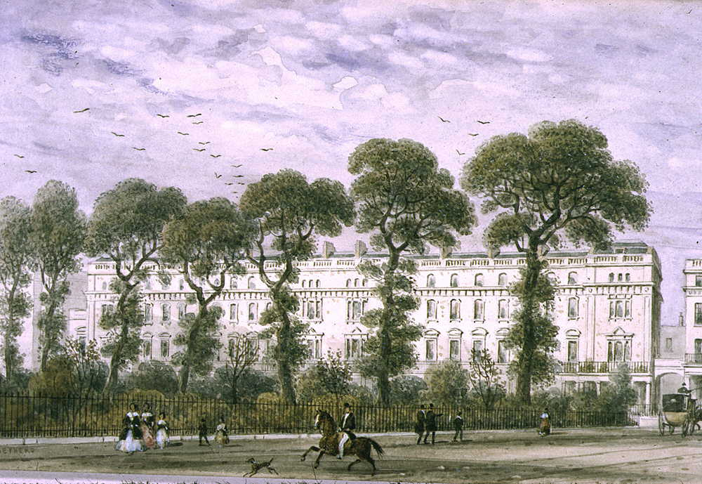 """Onslow Square."" 1851."