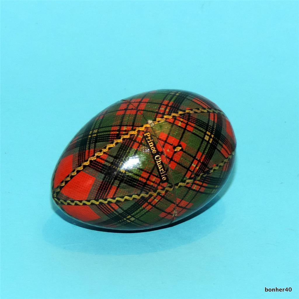 """Prince Charlie"" sewing egg. Victorian."