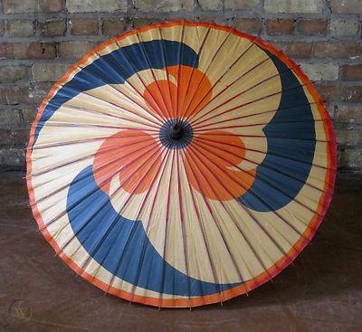 Souvenir paper parasol. 1933.