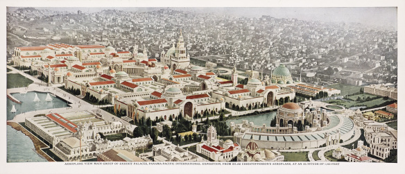 """The Jewel City"" by the Golden Gate: the 1915 Panama-Pacific International Exposition."