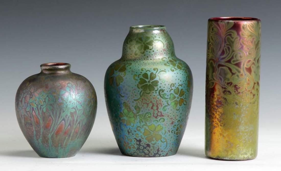 Three vases. Early 20th c.